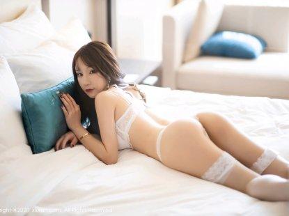 [XiuRen秀人网] 2020.02.27 No.2011 周于希Sandy 白色内衣与蕾丝袜的视觉体验,美腿翘臀精彩极致诱惑[89+1P]
